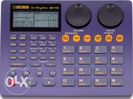 Boss DR 770 Drum Machine