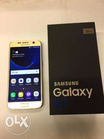 Samsung Galaxy S7 Gold Unlocked 32GB