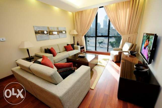 Furnished and serviced 1&2 bedrooms apartments-kuwait city