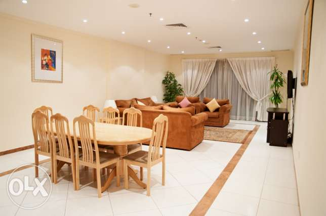 Very spacious 3 Bedroom sea-view Apartment with balcony at Salmiya