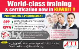 Certified Purchasing Professional course from APS -USA Now in Kuwait