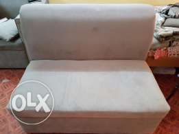 2 seat sofa color gray