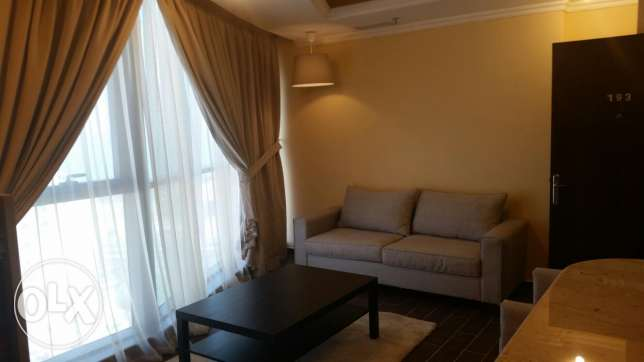 Salmiya full sea view flat 2 bhk fully furnished