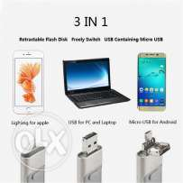 3 in 1 mobile USB
