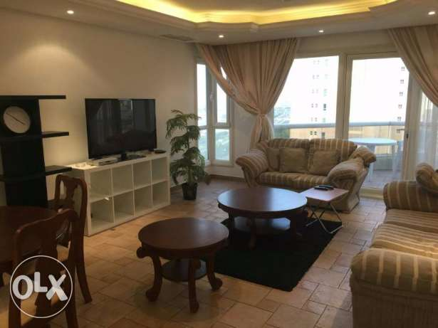 Fully Furnished duplex/apartment in Salmiya, 850 KD.