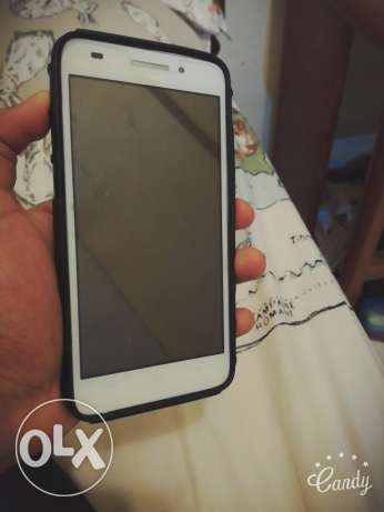 Huawei G620s in great condition with armoured casing for sale