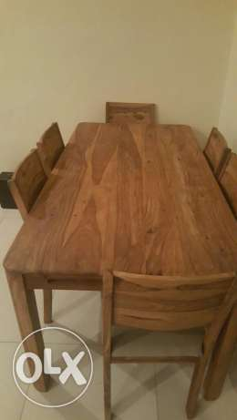 Brand new Dinning Table With 6 chairs & lucknow