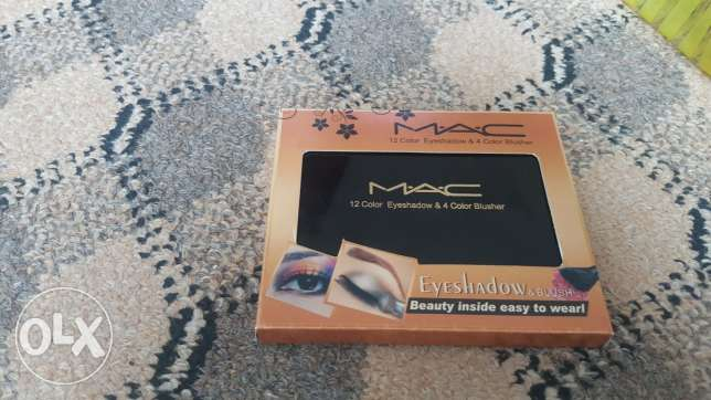 Mac 12 colours eyeshadow &4 Color blusher orignal