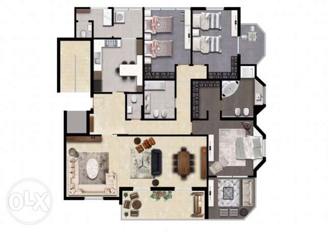 appartment for sale/beirut lebanon