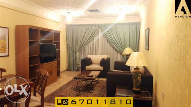 cozy one bedroom apartment furnished for rent in Salmiya السالمية -  3