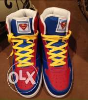 New superman hi top size 43
