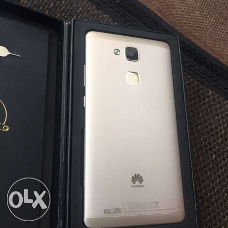 used mate 7 like new gold 3 gb ram 32 gb الرابيه -  4