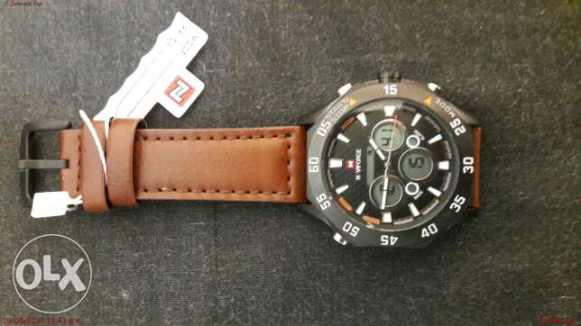 Navi Force Branded Watch
