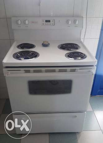 Large Westinghouse Electric Stove-Oven (USA Brand)