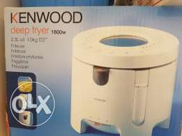 New Kenwood Deep Fryer and GE All Purpose Stand Mixer