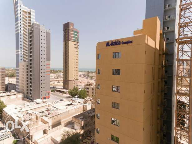 Apartment for rent behind al hamra tower sharq kuwait.