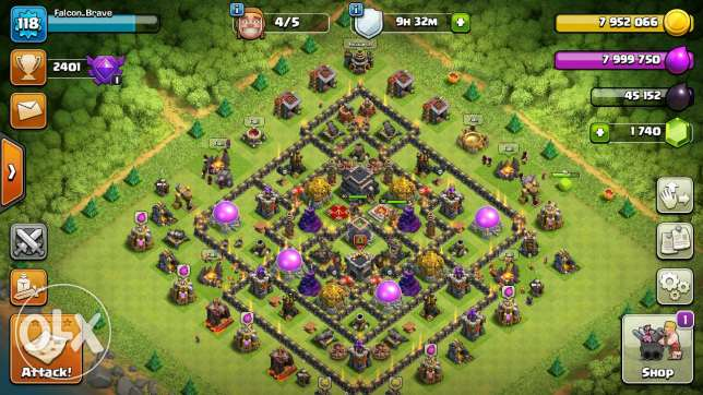 Clash of clans كلو مكس