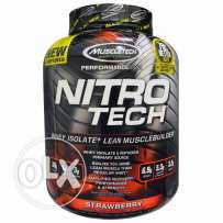 NitroTech Limited Addition - 4Lbs - Strawberry