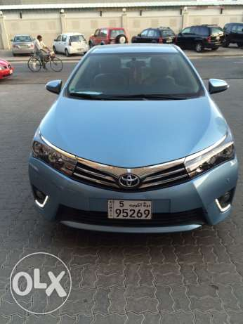 Toyota Corolla top of the range with additional accessories