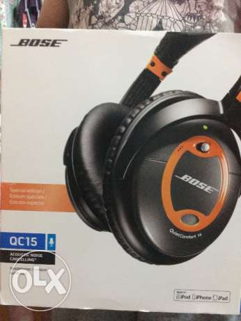 BOSE QC15 acoustic noise cancelling