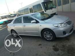 Toyota coralla car is sell 2012 model