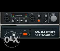 M-audio m track plus ii Two-Channel USB 2.0 Audio Interface with 24-bi