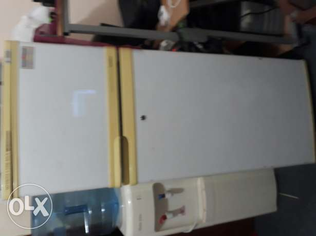 "refrigetator an Panasonic 21""tv for sale both 60 kd."
