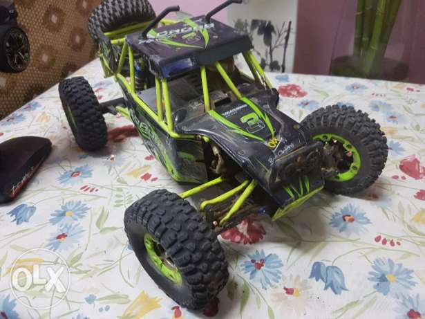 4wd Rc climber battery powered
