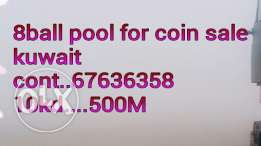 8 ball pool coins for sale 10kd 500M miniclip ki id