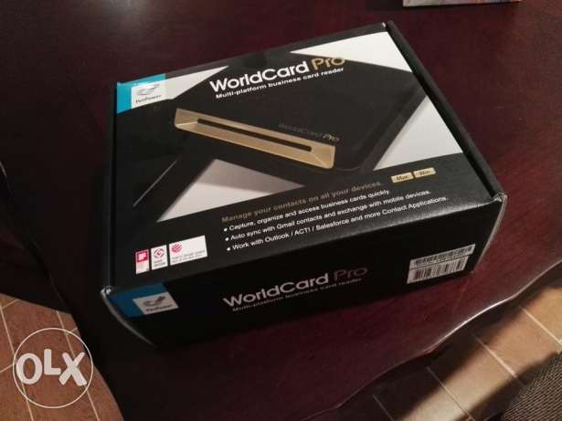 WorldCard Pro Business Card Reader