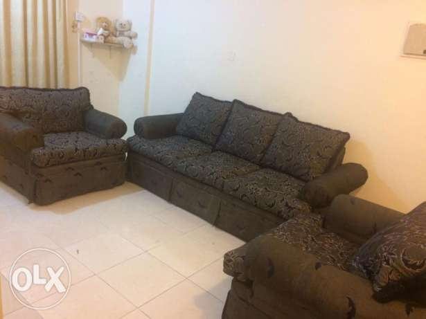 SOFA SET(3+1+1) with center table