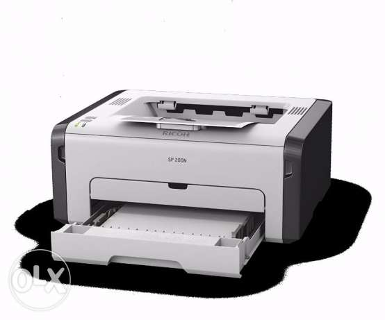 Ricoh SP 201N LASER PRINTER - brand new and still in box الرقعي -  2