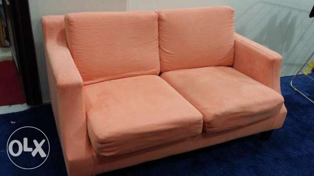 Sofa for 2 seats 20 kd very good