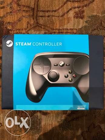 Steam controller for PC that functions as both a controller and mouse