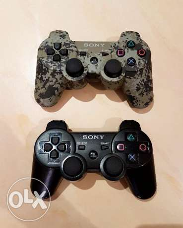 PS3 Dual Shock 3 Wireless Controllers