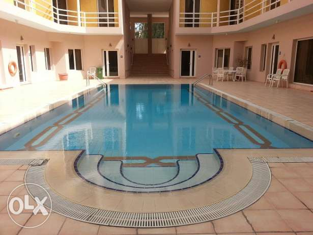 2 Bedroom Apt. in Abu Hassaniya, Pool, Gym Etc.