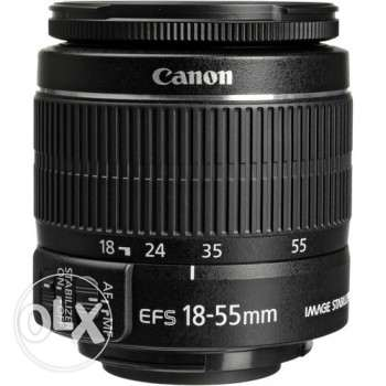 Canon Lens 18-55mm EFS F3.5-5.6 IS (Image Stabilization)