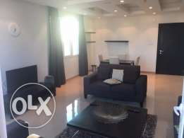 fully furnished flat in fintas sea view good location
