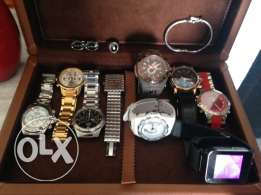 watches and accessories in excellent condition contact for more info