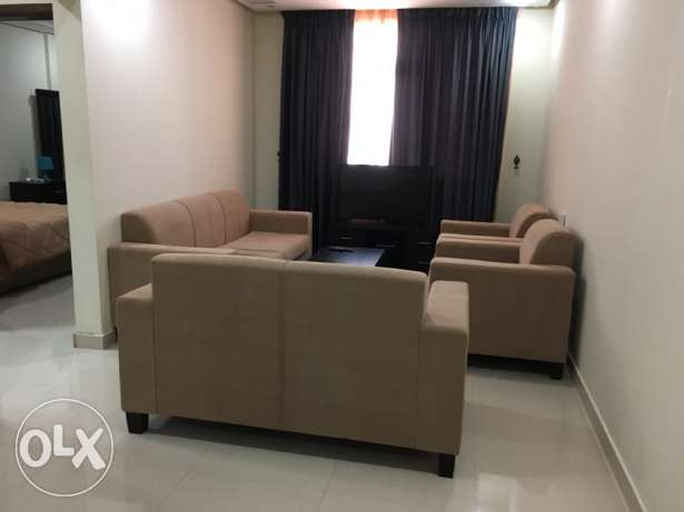fully furnished sharing 2bedroom apartment in mahboula.