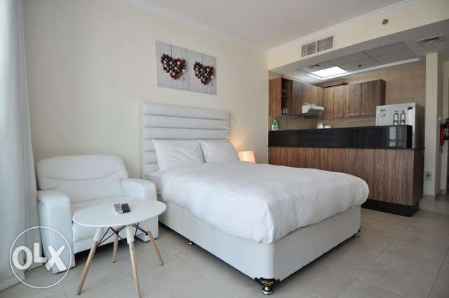 Furnished studio apartment in Salmiya 250 KD