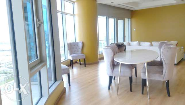 Luxury sea view three bedroom apartmebt for rent in shaab