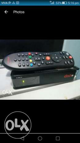 Dishtv hd receiver for sale