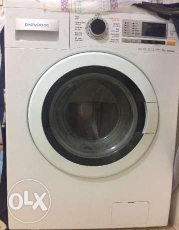 Washing Machine - Daewoo 9KG - Excellent Condition