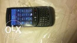 Black berry9800 with touchscreen