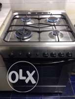 4 burner gas stove with oven for sale
