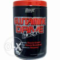 Glutamine Drive Black - 300 Grams - 80 Servings