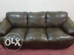 For Sale Leather Sofa 3+2+2