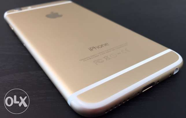 IPhone 6 gold color 128gb