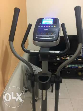 Elipitical fitness machine